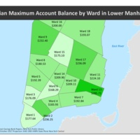 Median Savings of EISB Depositors by New York Ward
