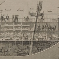 Sailing Ship Interior, Steerage Compartment