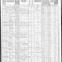 Margaret and Michael Sheridan; 1870 Census