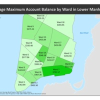 Average Savings of EISB Depositors by NYC Ward<br />