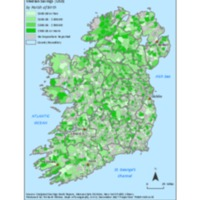 Median Savings by Irish Parish