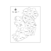 The Counties of Ireland in the Famine Era